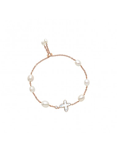 Bracelet in gold, mother of pearl,...
